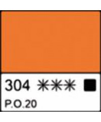1104304 Каска маслянная МАСТЕР-КЛАСС Кадмий оранжевый, туба 46 мл