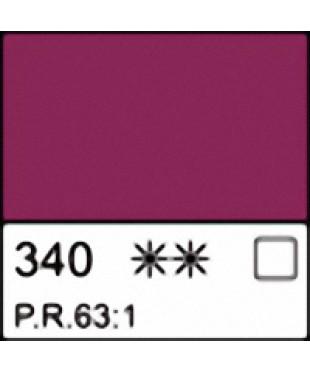 1104340 Краска маслянная МАСТЕР-КЛАСС Краплак фиолетовый прочный, туба 46 мл