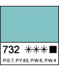 Краска масляная МАСТЕР-КЛАСС  1104732  Малахитовая светлая, туба 46 мл