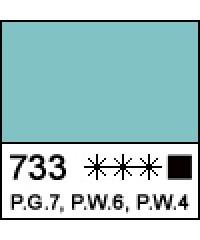 1104733 Краска маслянная МАСТЕР-КЛАСС Турецкая зеленая, туба 46 мл