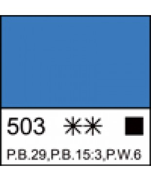 503 Краска темперная МАСТЕР-КЛАСС Церулеум (А), туба 46 мл