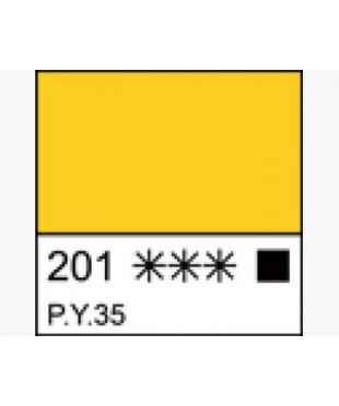 1604201 Краска темперная МАСТЕР-КЛАСС Кадмий желтый средний, туба 46 мл