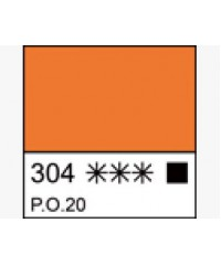 1604304 Краска темперная МАСТЕР-КЛАСС Кадмий оранжевый, туба 46 мл