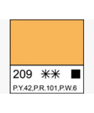 1604209  Краска темперная МАСТЕР-КЛАСС Неаполитанская желтая (А), туба 46 мл