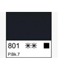 Краска темперная МАСТЕР-КЛАСС  1604801  Сажа Газовая, туба 46 мл