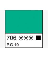Краска масляная МАСТЕР-КЛАСС 1104706   Кобальт зеленый светлый, туба 46 мл