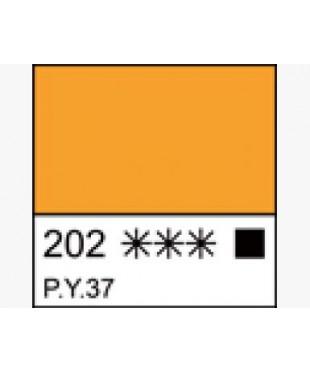 Краска масляная МАСТЕР-КЛАСС 1104202  Кадмий желтый темный, туба 46 мл