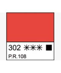 Краска масляная МАСТЕР-КЛАСС 1104302   Кадмий красный светлый, туба 46 мл