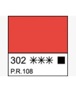 1104302  Краска маслянная МАСТЕР-КЛАСС Кадмий красный светлый, туба 46 мл