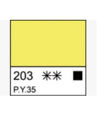 1104203 Краска маслянная МАСТЕР-КЛАСС Кадмий лимонный, туба 46 мл