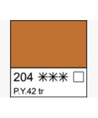 Краска маслянная МАСТЕР-КЛАСС  1104204  Марс желтый прозрачный, туба 46 мл