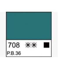 Краска масляная МАСТЕР-КЛАСС 1104708,  Хром-кобальт сине-зеленый. туба 46 мл