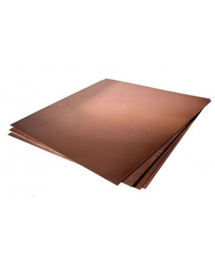 Пластина медная для офорта, размер 33,5х40 см