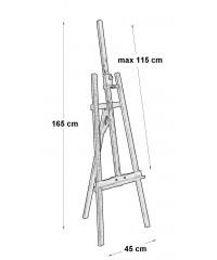 Мольберт Arg-1, Лира, 020616000