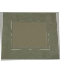 100101 Фигурное паспарту, набор, размер 27,5х32,5 см