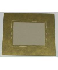 100102 Фигурное паспарту, набор, размер 27,5х32,5 см