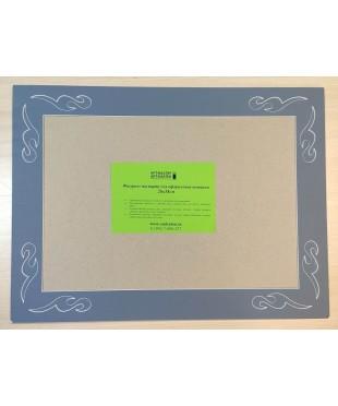 98007 Фигурное паспарту, набор, размер 35х47 см