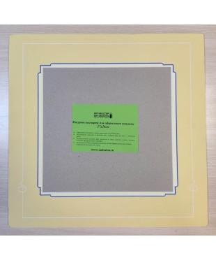 98009 Фигурное паспарту, набор, размер 40х41 см