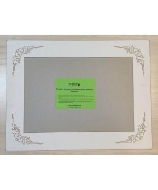 98010 Фигурное паспарту, набор, размер 38х50 см