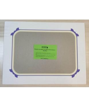 98013 Фигурное паспарту, набор, размер 38,5х50 см