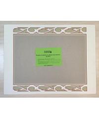 98015 Фигурное паспарту, набор, размер 37х49 см