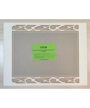 98016 Фигурное паспарту, набор, размер 37х49 см