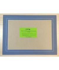 98019 Фигурное паспарту, набор, размер 35х47 см