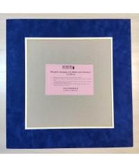 98001 Фигурное паспарту, набор, размер 40х41см
