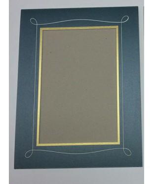 800501 Фигурное паспарту, набор, размер 29х38 см