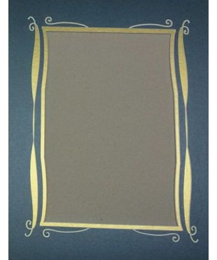 800502 Фигурное паспарту, набор, размер 29х38 см