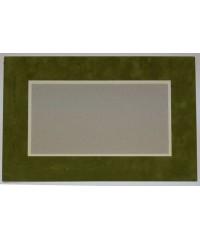 800601 Фигурное паспарту, набор, размер 25х38 см
