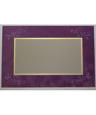 800602 Фигурное паспарту, набор, размер 25х38 см