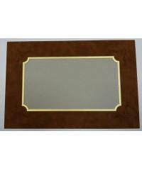 800701 Фигурное паспарту, набор, размер 26х38,5см