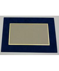 Фигурное паспарту, набор, размер 26х38,5 см, 800702