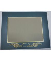 Фигурное паспарту, набор, размер 30х37,5 см, 800801