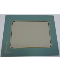 Фигурное паспарту, набор, размер 30х37,5 см, 800802