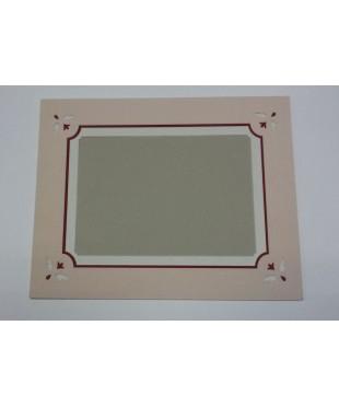 Фигурное паспарту, набор, размер 35х44 см, 801001