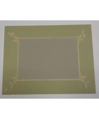 Фигурное паспарту, набор, размер 35х45 см, 801101