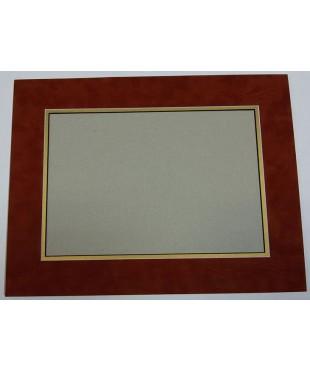 801201 Фигурное паспарту, набор, размер 29,5х38,5 см