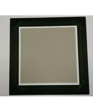 802801 Фигурное паспарту, набор, размер 42х42 см