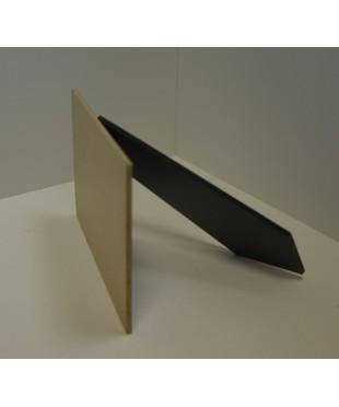 Фотозадник прямогольный  13х9 см . ламинированный МДФ, SN