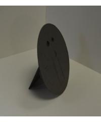 Фотозадник круглый 10 см , фиброкартон, STC