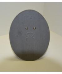 SVC фотозадник овальный 9х12 см. фиброкартон