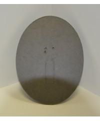 Фотозадник овальный 15х20 см . фиброкартон, SVC