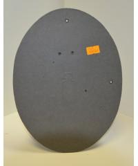 Фотозадник  овальный 18х24 см. фиброкартон, SVC