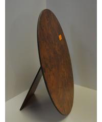 SVR Фотозадник овал  для рамы, МДФ, цвет - корень капа, 20х25 см