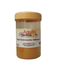 Agulis Pigments, Пигмент Охра золотисто-табачная, 100 гр