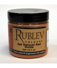 Пигмент RUBLEV,  450-5410 Apt Red Oxide 100 г.