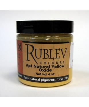 Пигмент RUBLEV 430-4510 Apt Yellow Oxide