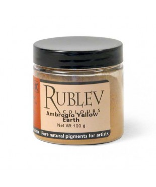 Пигмент RUBLEV 431-4410  Ambrogio Yellow Earth